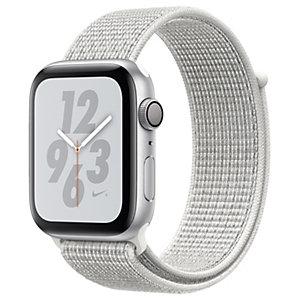 Apple Watch Series 4 Nike+ 44 mm (hopea/valkoinen sport loop)