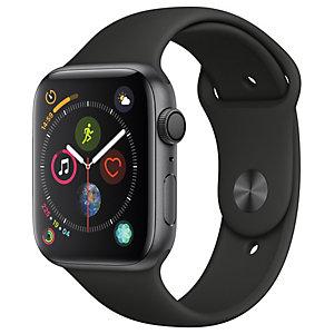 Apple Watch Series 4 44mm (harmaa/musta urheiluranneke)