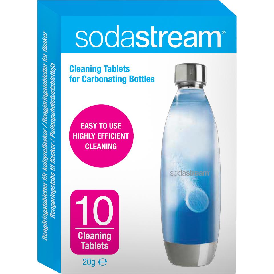 rengøring af sodastream flasker