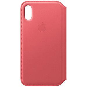 iPhone Xs lompakkokotelo (pioni)