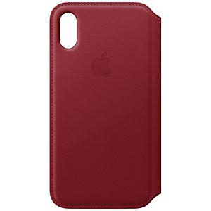iPhone Xs lompakkokotelo (punainen)