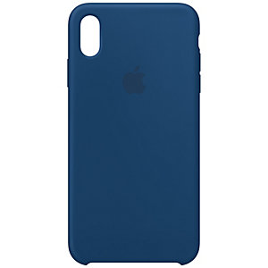 iPhone Xs Max silikonikuori (tummansininen)