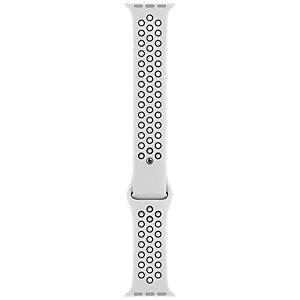 Apple 40 mm Nike Sport armband (svart/platina)