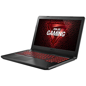 """Asus TUF Gaming FX504 15.6"""" bärbar dator gaming (svart)"""