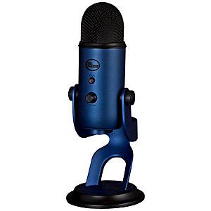Blue Yeti mikrofon (midnattsblå)