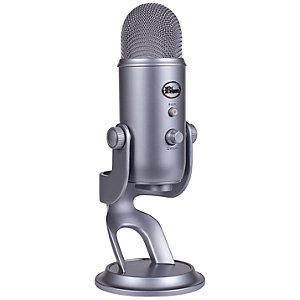 Blue Yeti mikrofon (rymdgrå)