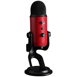 Blue Yeti mikrofon (röd)