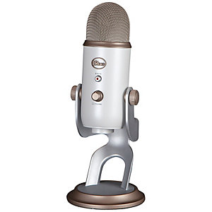 Blue Yeti mikrofon (vit)