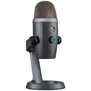Blue Yeti Nano mikrofon (grå)