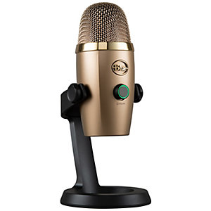 Blue Yeti Nano mikrofon (guld)