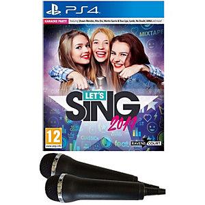 Let's Sing 2019 - Mic Bundle (PS4)