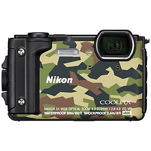 Nikon CoolPix W300 digikamera (musta/vihreä)