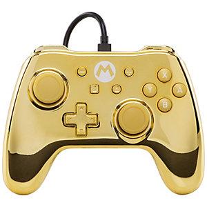 PowerA Nintendo Switch-kontroller Gold Mario-utgave