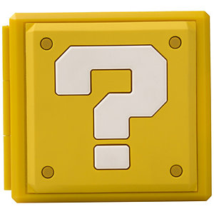 PowerA Nintendo Switch spelkortfodral - Question block design