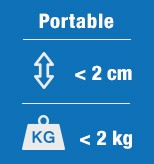 Alle 2 kiloa painavat BASIC-kannettavat