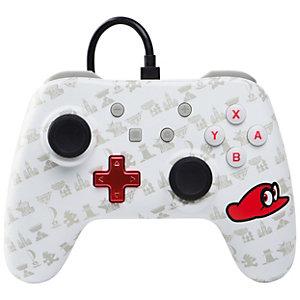 PowerA Nintendo Switch-kontroller Mario Odyssey-utgave