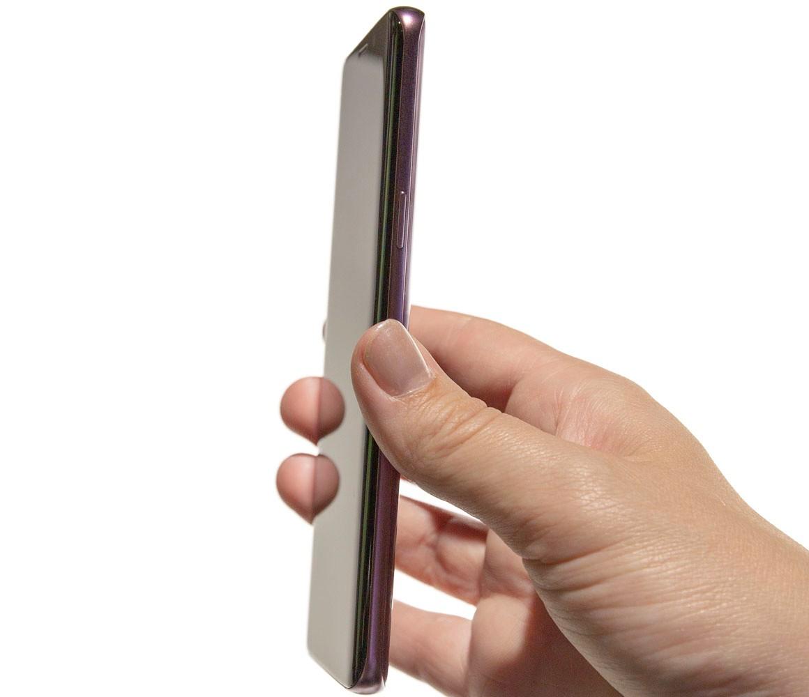 Samsung Galaxy S9 från sidan