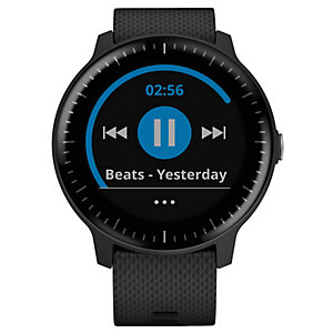 Garmin Vivoactive 3 Music smartwatch (svart/stål)
