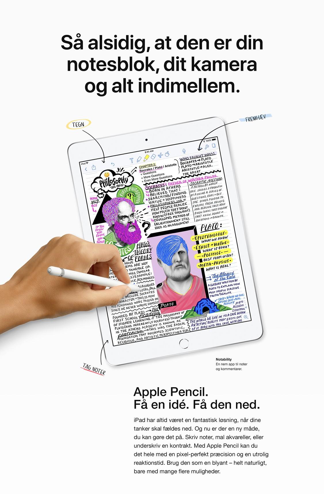 """Få en ide og få den på """"papiret"""" med Apple Pencile"""