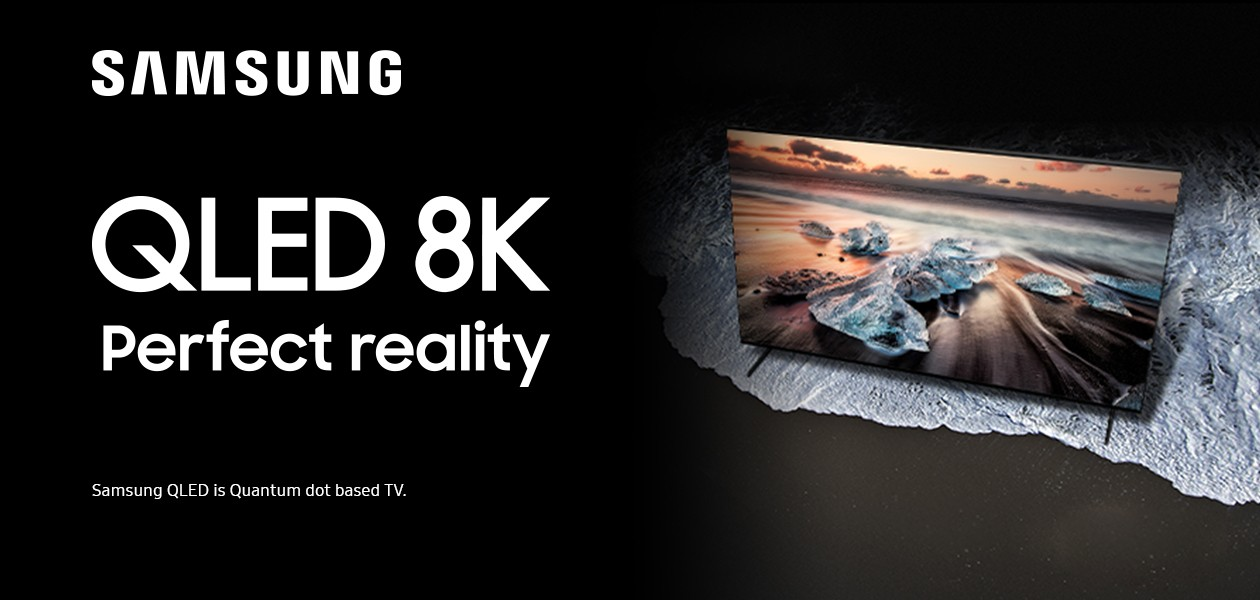 Samsung QLED 8K TV - Perfect Reality