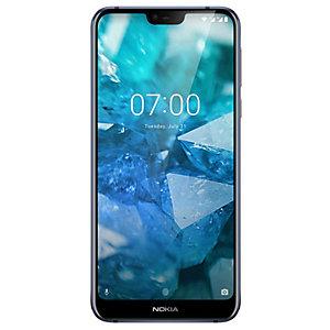 Nokia 7.1 älypuhelin (sininen)