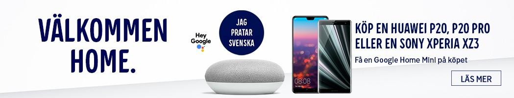 Google Home - få ett bra erbjudande