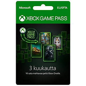 Xbox Game Pass - 3 Months Subscription - Xbox One