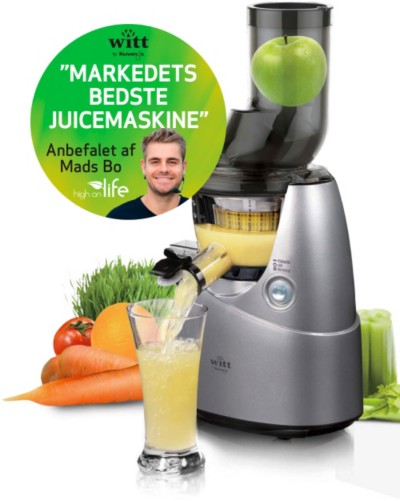 Witt Slow Juicer Manual : Anbefalet af Danmarks forende juicemester - Elgiganten