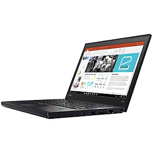 "Lenovo ThinkPad X270 12,5"" bærbar PC (sort)"