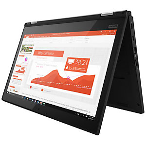 "Lenovo ThinkPad L380 Yoga 13.3"" 2-i-1 (svart)"