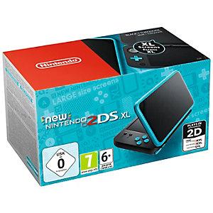 New Nintendo 2DS XL spelkonsol (svart,turkos)