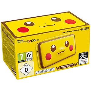 New Nintendo 2DS XL konsol: Pikachu edition