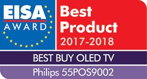 EISA palkittu Philips OLED