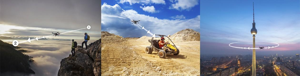 GoPro til din drone