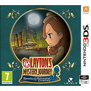 Layton's Mystery Journey: Katrielle... (3DS)