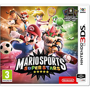 Mario Sports Superstars med Amibo-kort (3DS)