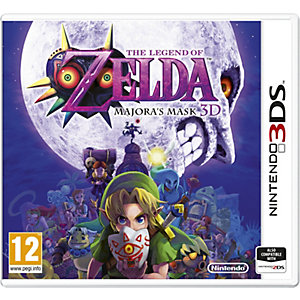 The Legend of Zelda: Majoras Mask 3D (3DS)