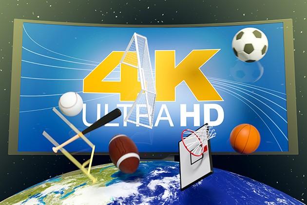 Urheilua 4K Ultra HD:llä