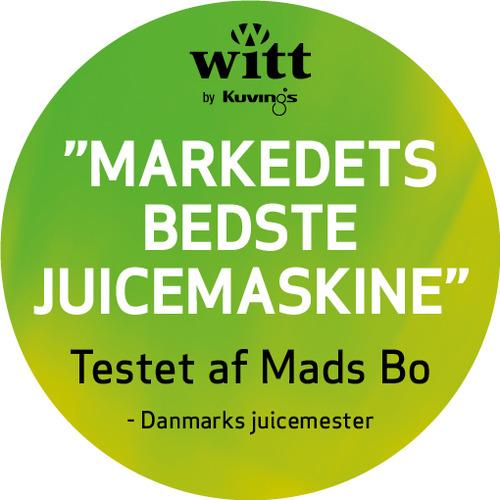 Mads Bo Slow Juicer Test : Witt by Kuvings slow juicemaskine B6100S - Elgiganten