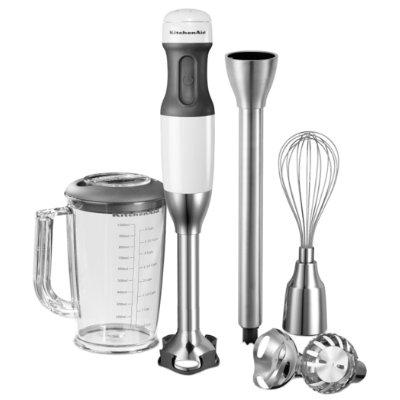 KitchenAid Classic stavblender 5KHB2531EWH - hvid - Blender & Mixer - Elgiganten