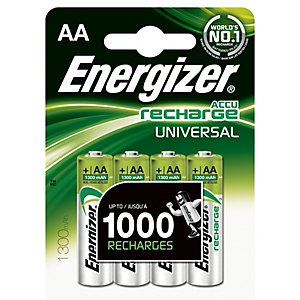 Energizer AA/LR6 laddbart Ni-Mh-batteri 1300mAh