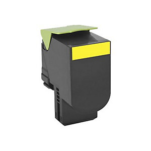 Lexmark 702HY XL yellow tonerkassett (return prog)