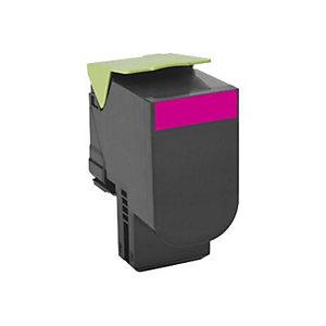 Lexmark 802M magenta tonerkassett (return program)