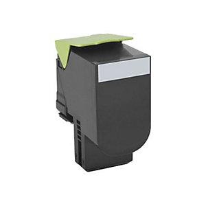 Lexmark 802SK - svart - original - tonerpatron - LCCP, LRP