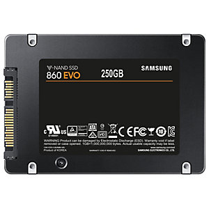"Samsung 860 EVO 2,5"" SSD-muisti (250 GB)"