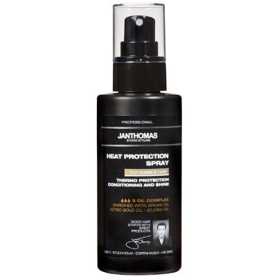 varmebeskyttende spray til håret