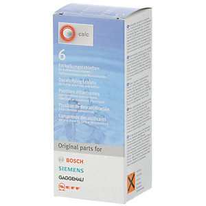 BOSCH SIEMENS DECALCIFYING TABLETS