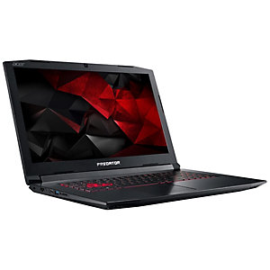 "Acer Predator Helios 300 17,3"" bærbar gaming-PC (sort)"