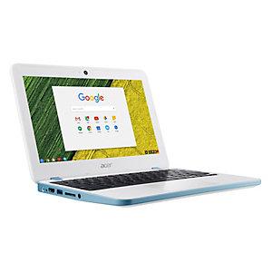 """Acer Chromebook 11 N7 11.6"""" bärbar dator (vit/blå)"""