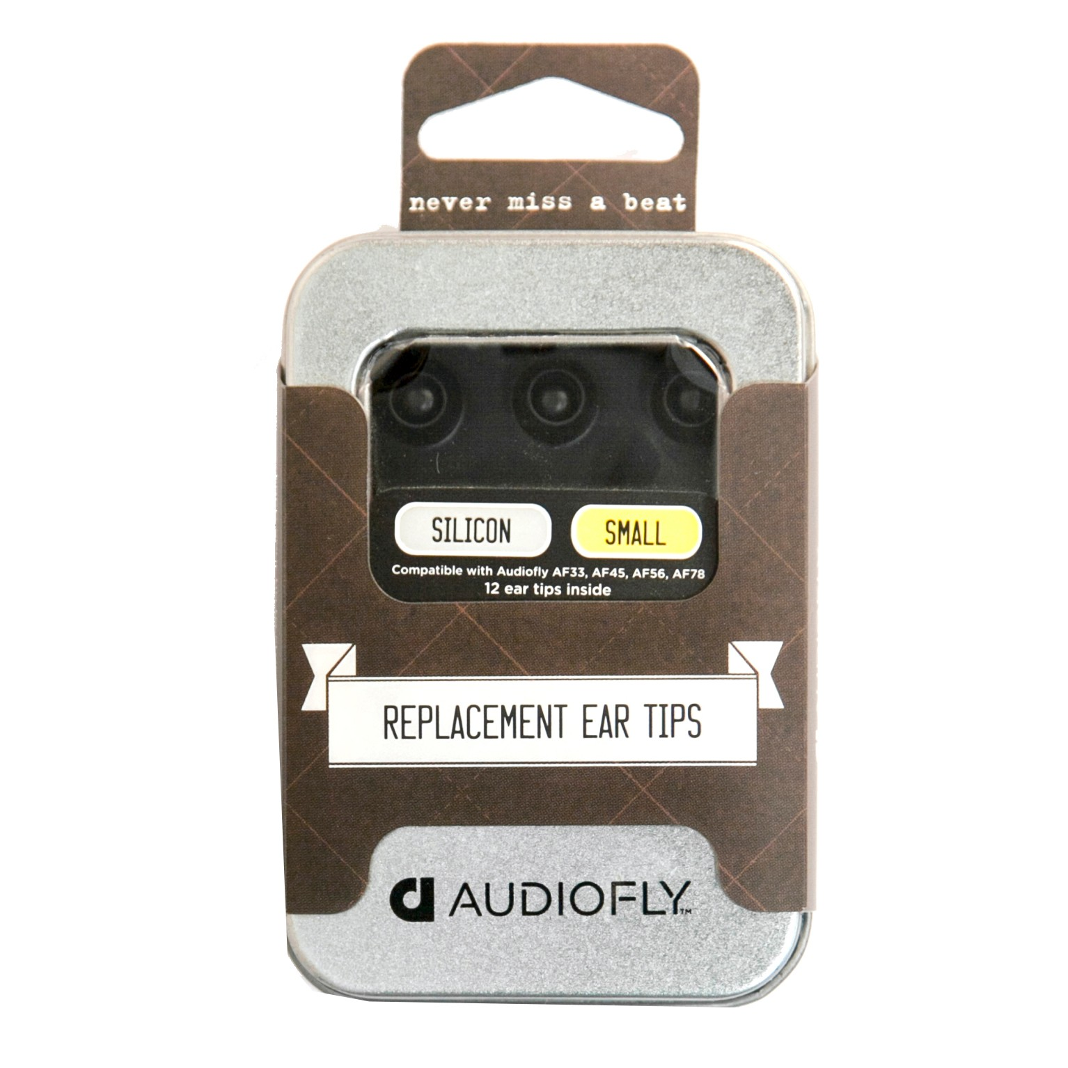 AFT1-S12-01 : Audiofly Premium ørepropper (small)